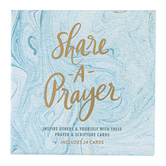 Eccolo Ltd., Share A Prayer Cards, Marble Swirl Design, 4 x 4 inches Each, 24 Cards