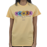 Kerusso, Ephesians 1:3 Beyond Blessed, Women's Short Sleeve T-shirt, Yellow Haze, S-3XL