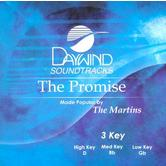The Promise, Accompaniment Track, As Made Popular by The Martins, CD