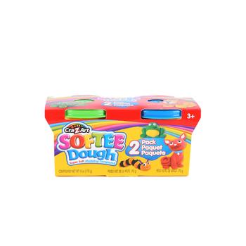Cra-Z-art Softee Dough 2 Pack