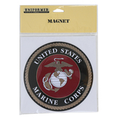 Uniformed Scrapbooks of America, United States Marine Corps Magnet, Flexible, 5 Inches