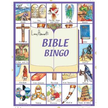 Lucy Hammet, Bible Bingo Game, Ages 3 Years and Older, 2 to 6 Players