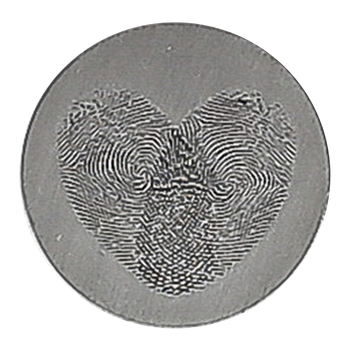 Dicksons, The Masters Touch Pocket Coin, Zinc Alloy, Silver-tone, 1 inch