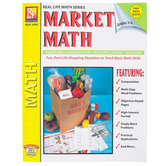 Remedia Publications, Menu Math Market Math, Paperback, 62-Pages, Grades 3-6