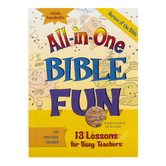 All-in-One Bible Fun for Preschool Children: Heroes of the Bible Activity Book, Ages 3-5