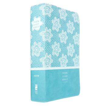 NIV Teen Study Bible, Duo-Tone, French Teal Design