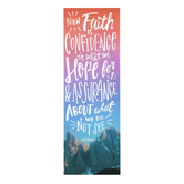Salt & Light, Hebrews 11:1 Now Faith Is Bookmarks, 2 x 6 inches, 25 Bookmarks