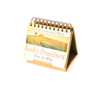DaySpring, Gods Promises Day by Day Perpetual Calendar, 5-1/2 x 5-1/4 x 1-1/4 inches