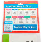 Scholastic, Another Way to Say Mini Bulletin Board Set, 26 Pieces, Grades 3-5