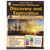 Carson-Dellosa, Interactive Notebook: Discovery and Exploration Resource Book, Paperback, 64 Pages, Grades 5-8