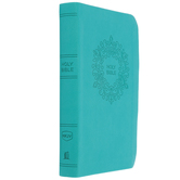 NKJV Value Thinline Compact Bible, Imitation Leather, Turquoise