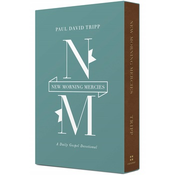 New Morning Mercies: A Daily Gospel Devotional, by Paul David Tripp, Imitation Leather, Brown