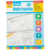 Evan-Moor, Daily Math Practice Teacher's Edition, Paperback, 128 Pages, Grade 3