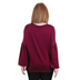 Rooted Soul, Love Is Kind, Women's Long Bishop Sleeve Top, Burgundy, X-Small