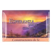 Christian Art Gifts, Esperanza Para El Corazon Faithbuilders Pocket Cards, 3 x 2 inches, 20 cards