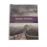 BJU Press, World Studies Student Activity Manual Answer Key, 4th Edition, Grade 7