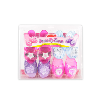 Melissa & Doug, Dress-Up Shoes, Ages 3 to 5 Years Old, 4 Pairs