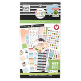 MAMBI, Happy Planner ®, Faith Classic Value Sticker Pack, 30 sheets, 689 stickers