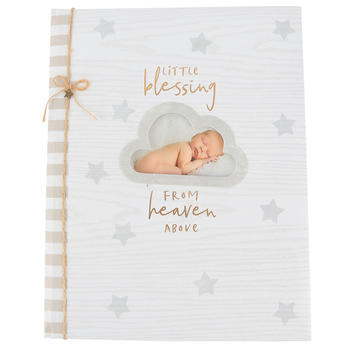 C.R. Gibson, Little Blessings From Heaven Memory Book, 8 3/4 x 11 1/4 inches