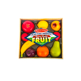 Melissa  & Doug, Farm Fresh Fruit, Ages 3 to 6 Years Old, 10 Pieces