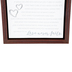 DaySpring, Love You Always Framed Plaque, White and Brown, 9 x 9 x 1 inches