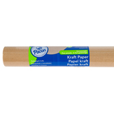 Pacon, Natural Kraft Paper Bulletin Board Roll, 4 x 25-Foot Roll