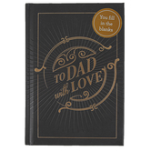 Christian Art Gifts, To Dad With Love Gift Book, 6 1/8 x 4 1/4 x 1/2 inches, 96 pages