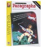Remedia Publications, Writing Paragraphs Workbook, Reproducible Paperback, 30 Pages, Grades 3-6