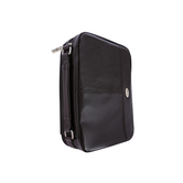 Christian Art, Two-Fold Leather-Like Organizer Bible Cover, Brown, Multiple Styles Available