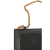 Imagination Station, Black Flat Rectangle Metal Chalkboard with Rope, 11 x 7 Inches
