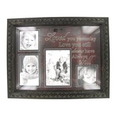 Love You Still Framed Photo Collage, Brown, 19 x 15 inches
