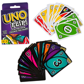 Mattel, UNO Flip, 112 Cards, Ages 7 and Older, 2 to 10 Players