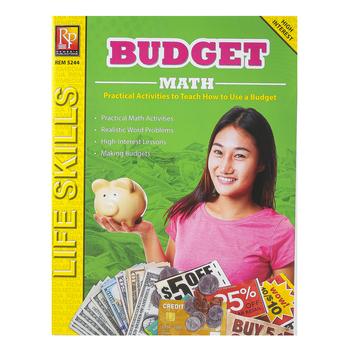 Remedia Publications, Life Skills Series Budget Math, Reproducible Paperback, Grades 6-12