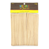 Woodpile Fun, Jumbo Craft Sticks, 6 Inches, Set of 75, Ages 4 and up