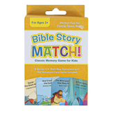 Shiloh Kidz, Bible Story Match: Classic Memory Game for Kids, Ages 3 & Older
