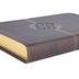 NIV Thinline Reference Bible, Large Print, Duo-Tone, Brown