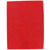 Renewing Minds, Stiffened Glimmer Red Felt Rectangle, 9 x 12 Inches, 1 Piece