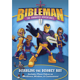 Bibleman: Disabling the Disobey Ray, DVD