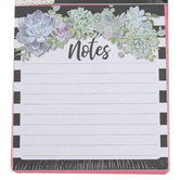 Schoolgirl Style, Simply Stylish Succulents Notepad, 5.75 x 6.25 Inches, Multi-Colored, 50 Sheets