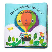 Melissa & Doug, The Wonderful World of Peekaboo! Soft Activity Book, Ages 1 Month to 3 Years