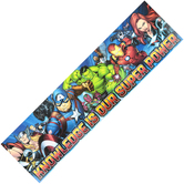 Eureka, Marvel Classroom Banner, Horizontal, Multi-Colored, 45 x 12 Inches, 1 Each