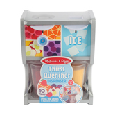 Melissa & Doug, Thirst Quencher Dispenser, 10 Pieces, Ages 3 and Older