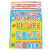 Eureka, Horton Hears A Who Kindness Rules Vertical Classroom Banner, 12 x 45 inches