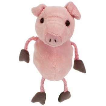 The Puppet Company, Pig Finger Puppet, 5 x 2 x 2 inches