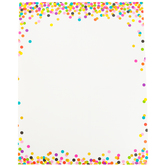 Teacher Created Resources, Confetti Customizable Blank Chart, 17 x 22 Inches