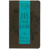 Teen to Teen: 365 Daily Devotions by Teen Girls for Teen Girls, Brown and Teel, Imitation Leather