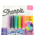 Sharpie, Ultra Fine Point Permanent Marker Set, Cosmic Colors, 1 Each of 5 Colors