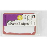 Name Badges - Red
