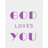 McBeth, God Loves You Mini Scripture Book, Paperback