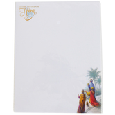 Renewing Faith, O Come Let Us Adore Him Wise Men Letterhead, White, 8 1/2 x 11 inches, 25 sheets